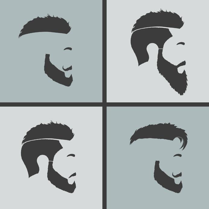diese trend frisuren passen perfekt zu einem vollbart barber trends. Black Bedroom Furniture Sets. Home Design Ideas
